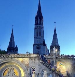 Viaggio a Lourdes in Aereo da Roma Natale