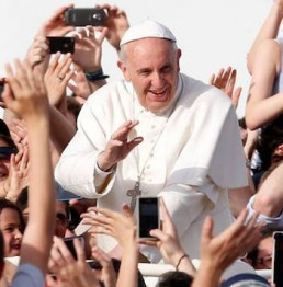 Pellegrinaggio a Roma Udienza dal Papa Aprile