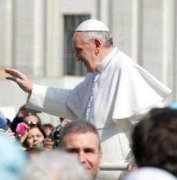 Pellegrinaggio a Roma Udienza dal Papa Novembre