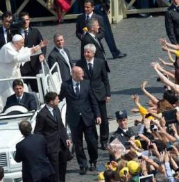 Pellegrinaggio a Roma Udienza dal Papa Ottobre