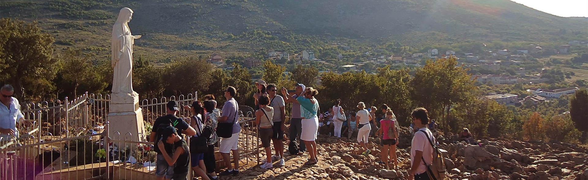 Viaggio a Medjugorje in Aereo da Roma Messaggio 25 Agosto