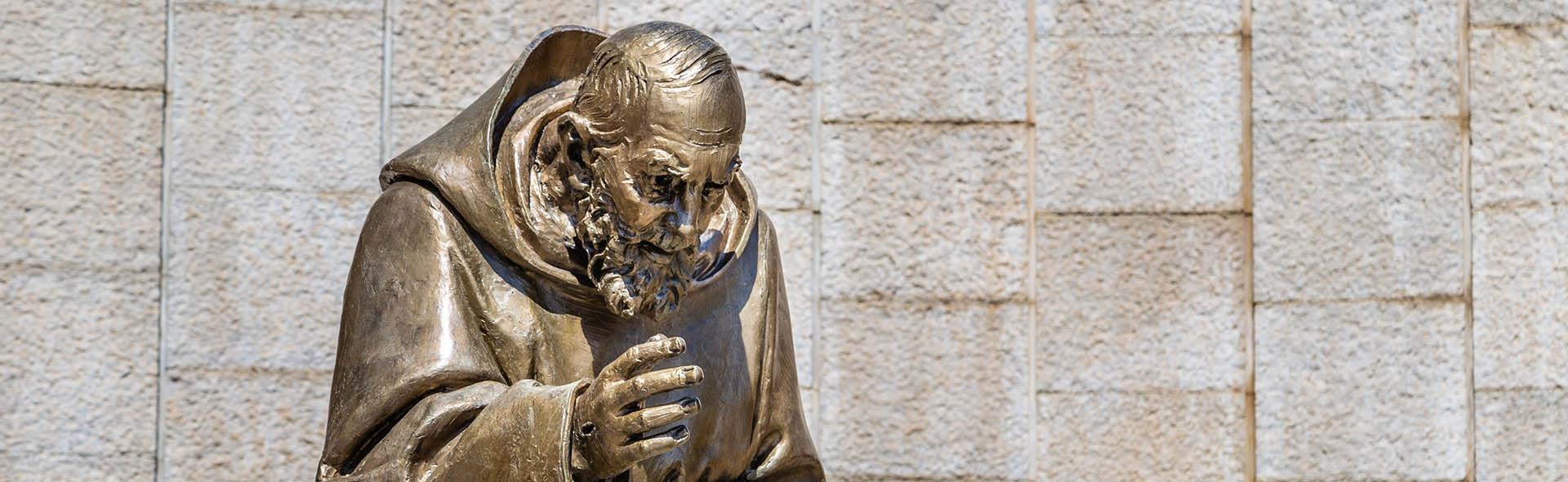 Pellegrinaggio Padre Pio dalla Sicilia Calabria in Pullman Natale