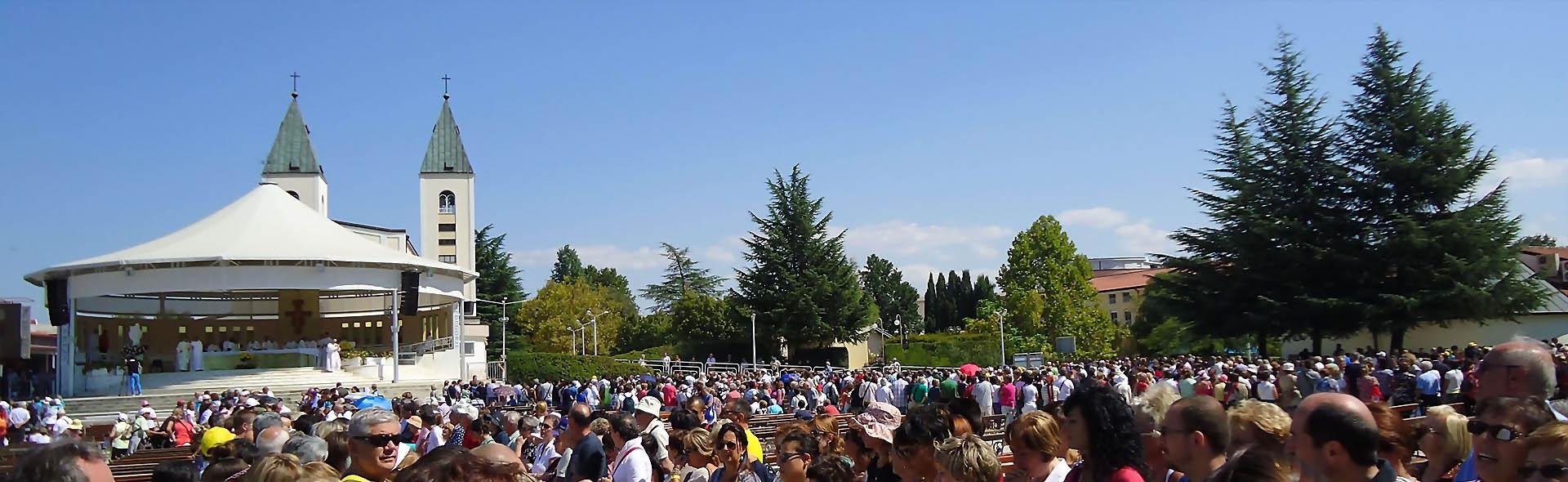 Viaggio a Medjugorje in Aereo da Milano Luglio