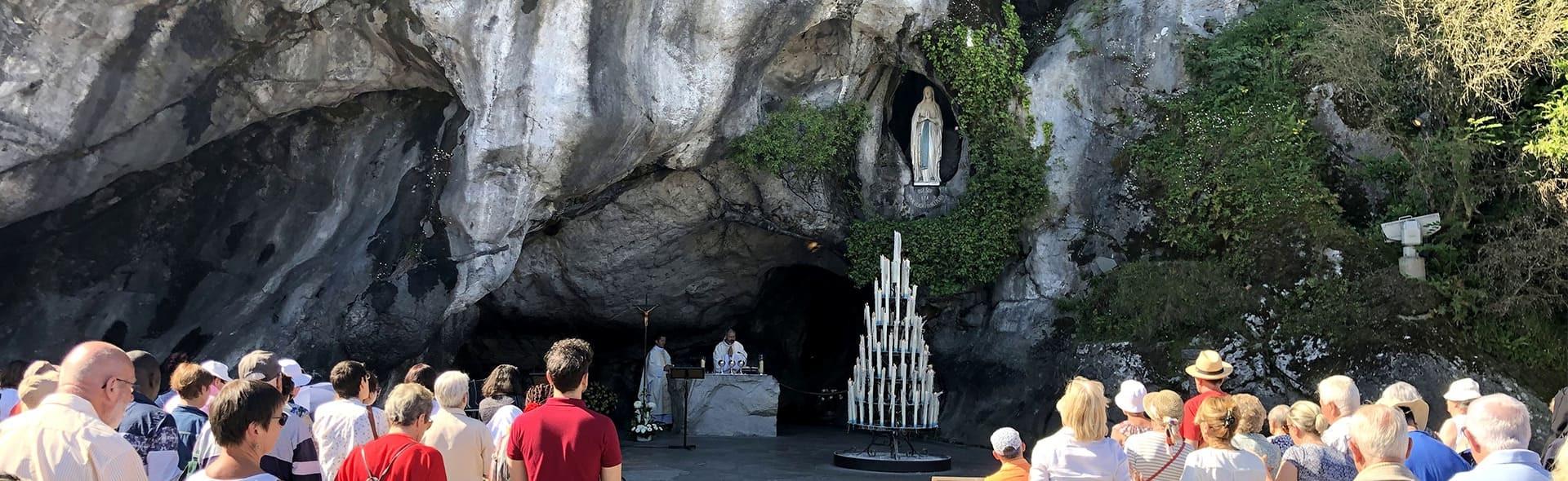 Viaggio a Lourdes in Aereo da Roma Seconda Meta' Agosto