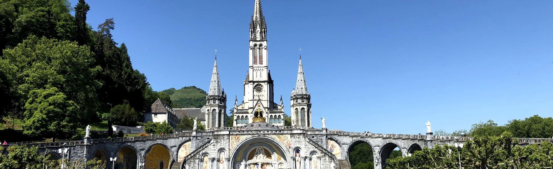 Viaggio a Lourdes in Aereo da Roma Agosto