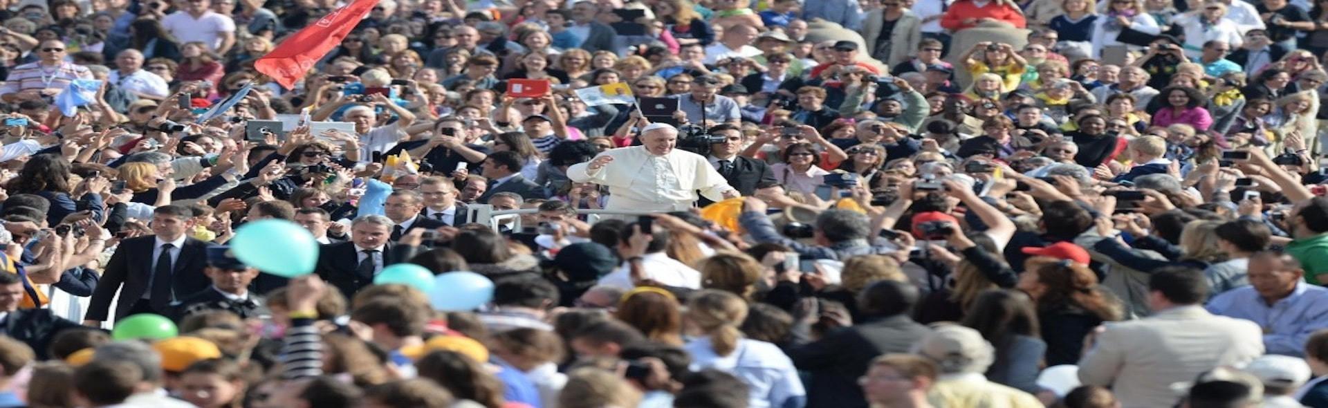 Pellegrinaggio a Roma Udienza dal Papa Maggio