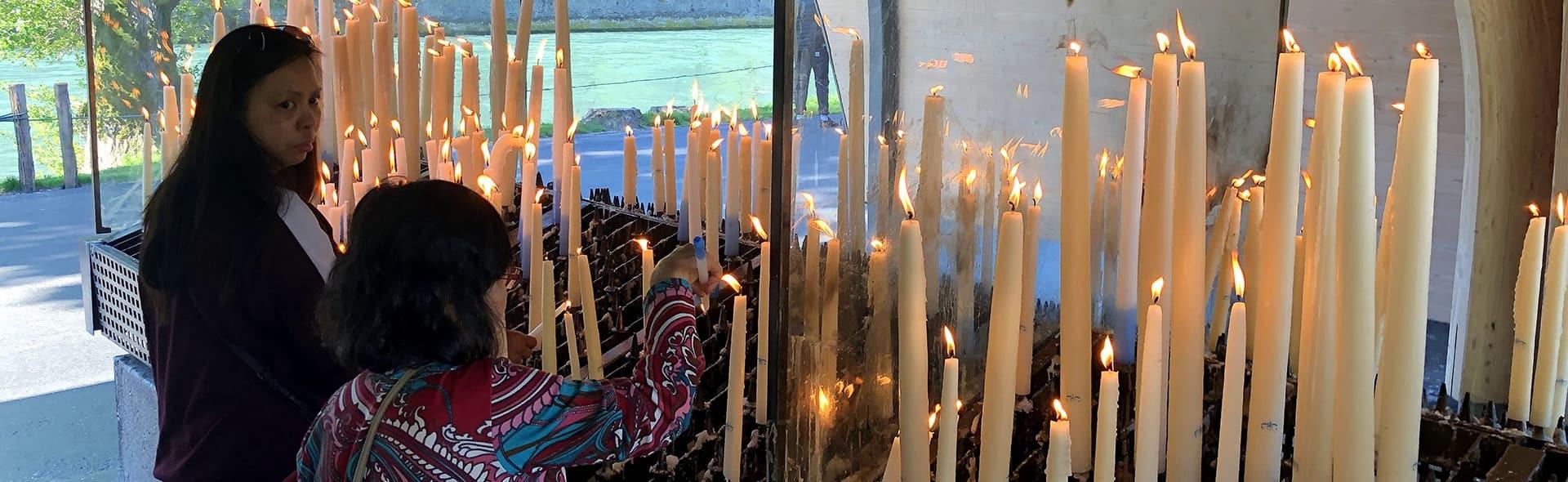 Viaggio a Lourdes in Aereo da Napoli Inizio Agosto