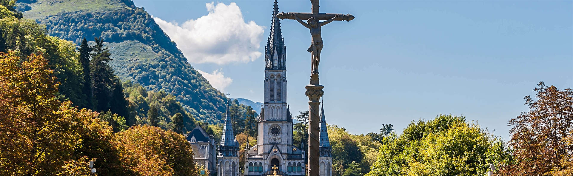 Pellegrinaggio a Lourdes dal Nord in Pullman Giugno